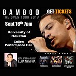"""LIVE in Concert Bamboo """"The Oven Tour 2017"""" with Elha Nympha"""