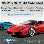 Rent Your Dream Car from Uptown Exotics Car Rental!