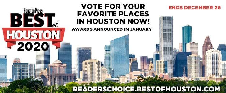 Vote for Best Of Houston!
